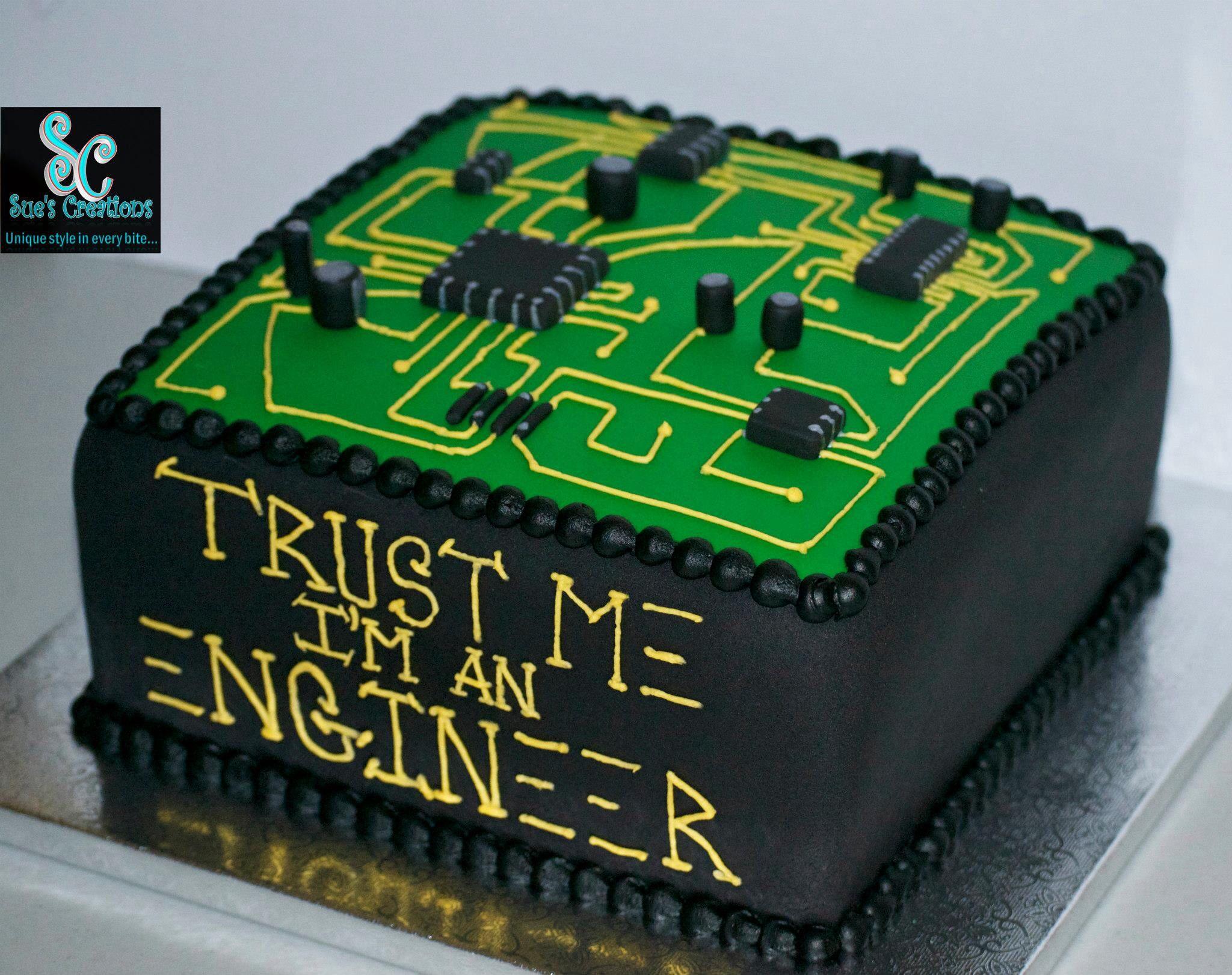 Engineers Cake Custom Made Cakes Cake Desserts Food