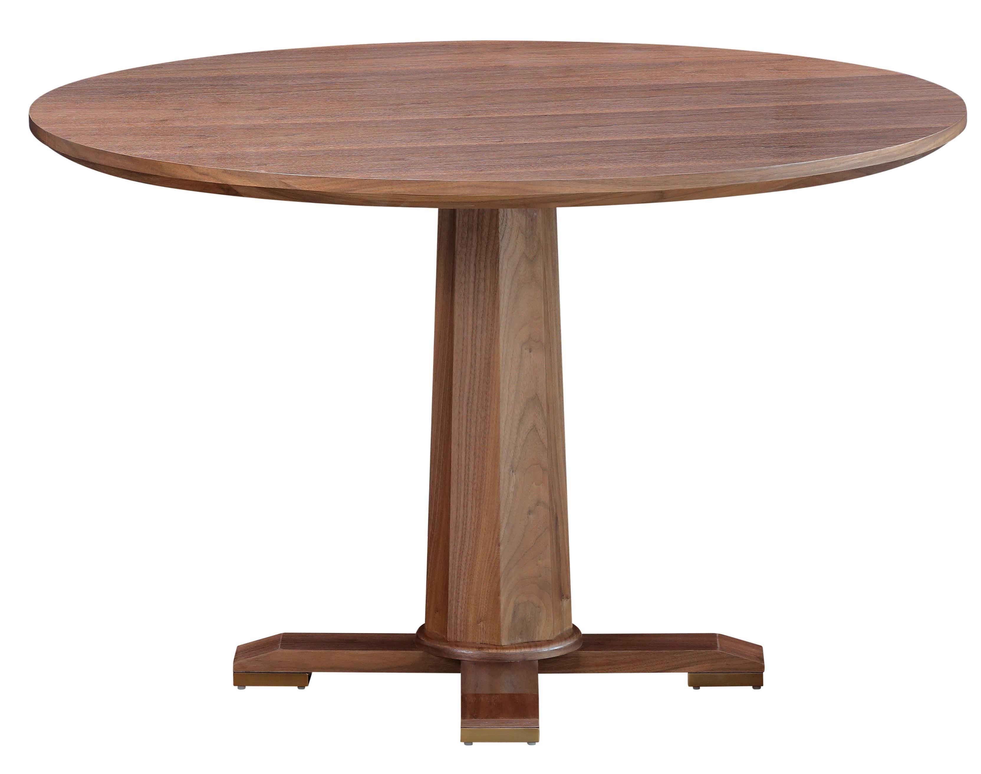 27f86f21d62d Harrison 48 Rd Dining Table Light Walnut Dining Table Lighting, Light Table,  Lightbox