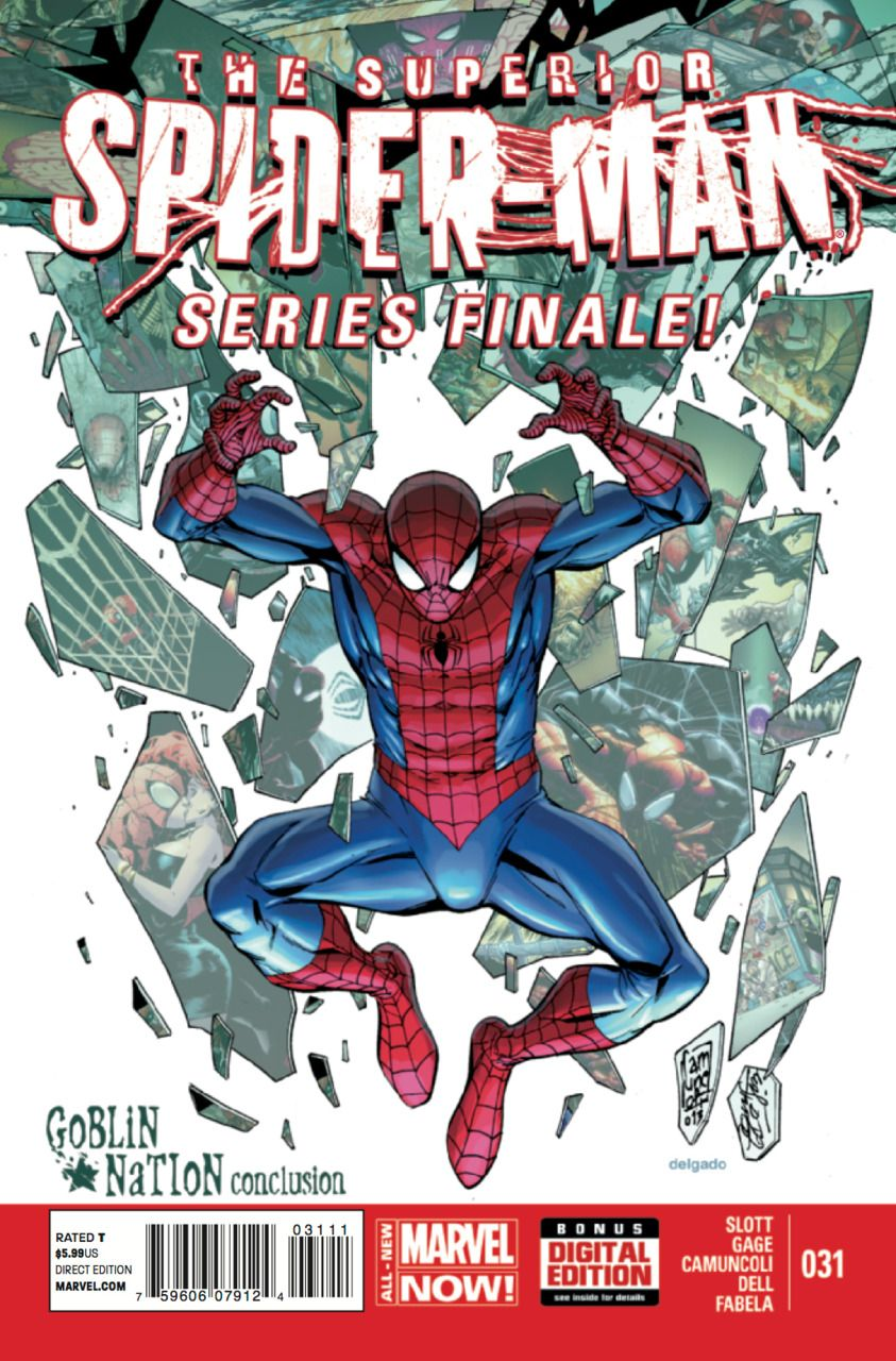 Superior Spider-Man #31 - Goblin Nation,  Conclusion / Actions Have Consequences