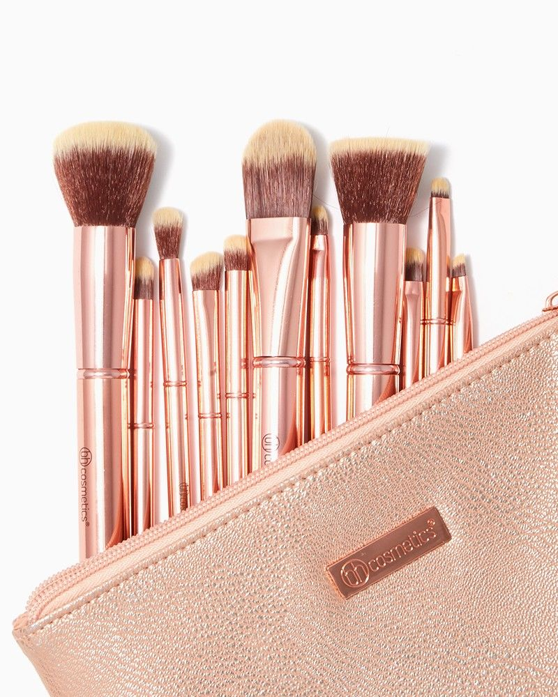 f247d57be0452 BH Cosmetics Metal Rose Brush Set