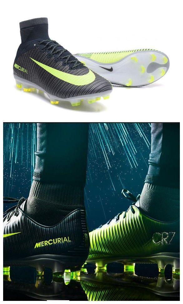 Nike Mercurial Superfly V FG ACC Ronaldo Crampons Noir