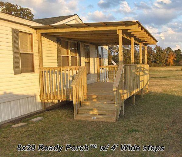 Mobile Home Porch, Mobile Home Deck, Porch