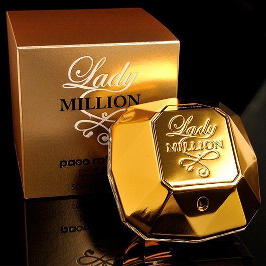 477f99c5b Perfume feminino Lady Million Eau my Gold Eau