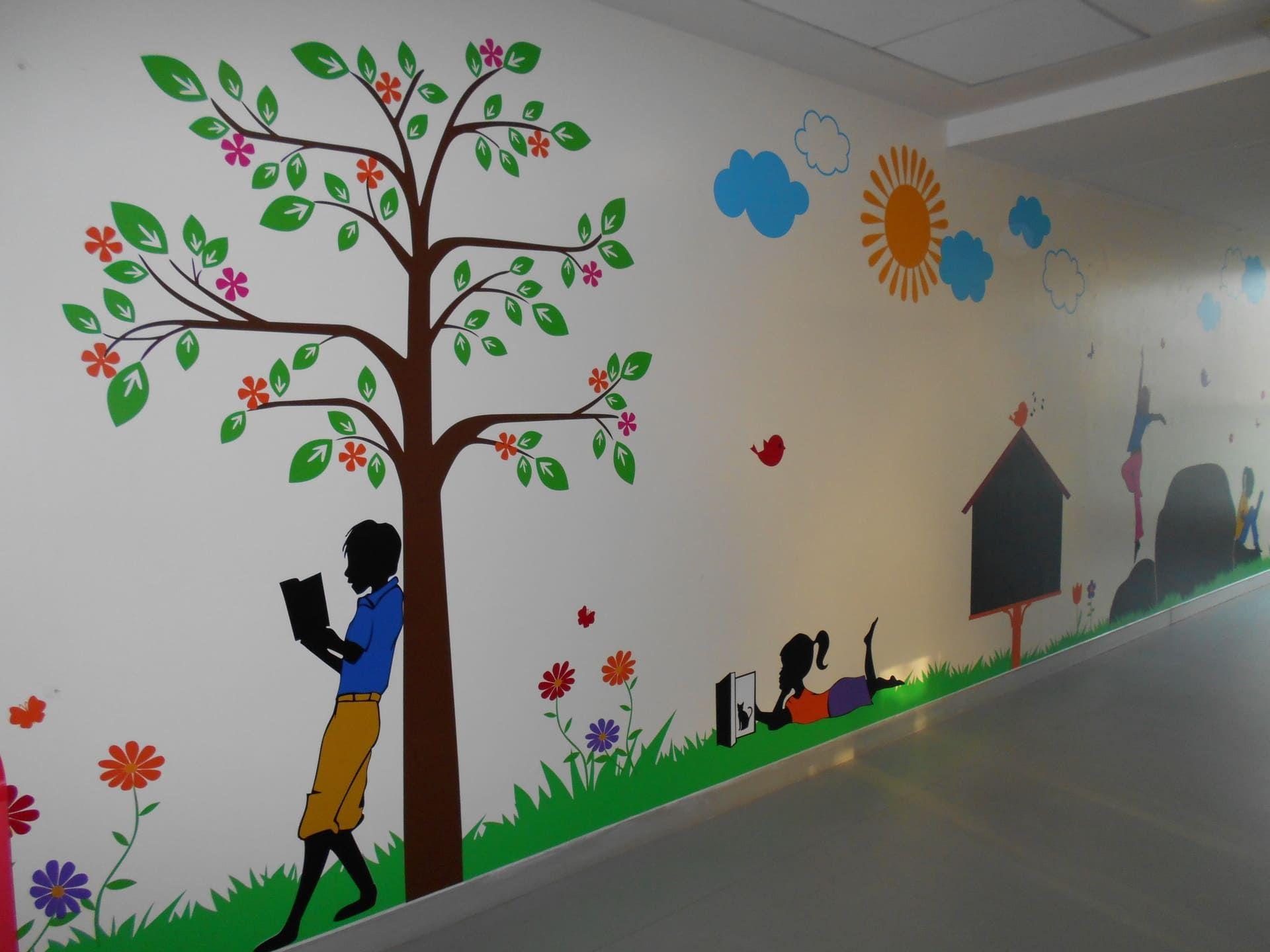 Mockingbird Studios Mumbai Customized Wall Graphics Decals Wallpapers Canvas Schools 2 Wall Graphics Graphic School