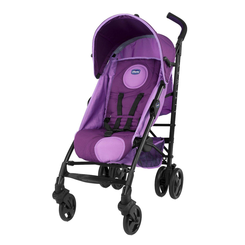 Chicco Liteway Stroller 2014 Range (Fuchsia) Baby (With
