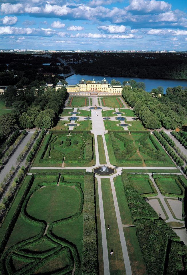 1,000 Places to See Before You Die. Drottningholm Palace, residence of Queen Silvia & King Carl XVI Gustaf. 7 miles W of Stockholm, Sweden.