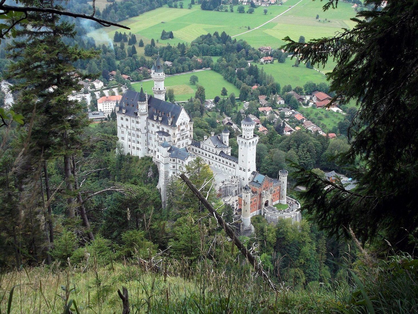 Schloss Neuschwanstein Allgauer Alpen Alpen Allgau Wandern