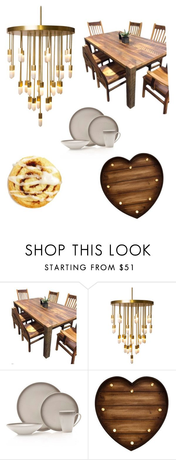"""Breakfast In The Morning"" by mikkikb ❤ liked on Polyvore featuring interior, interiors, interior design, home, home decor, interior decorating, DutchCrafters, Emporium Home and Mikasa"