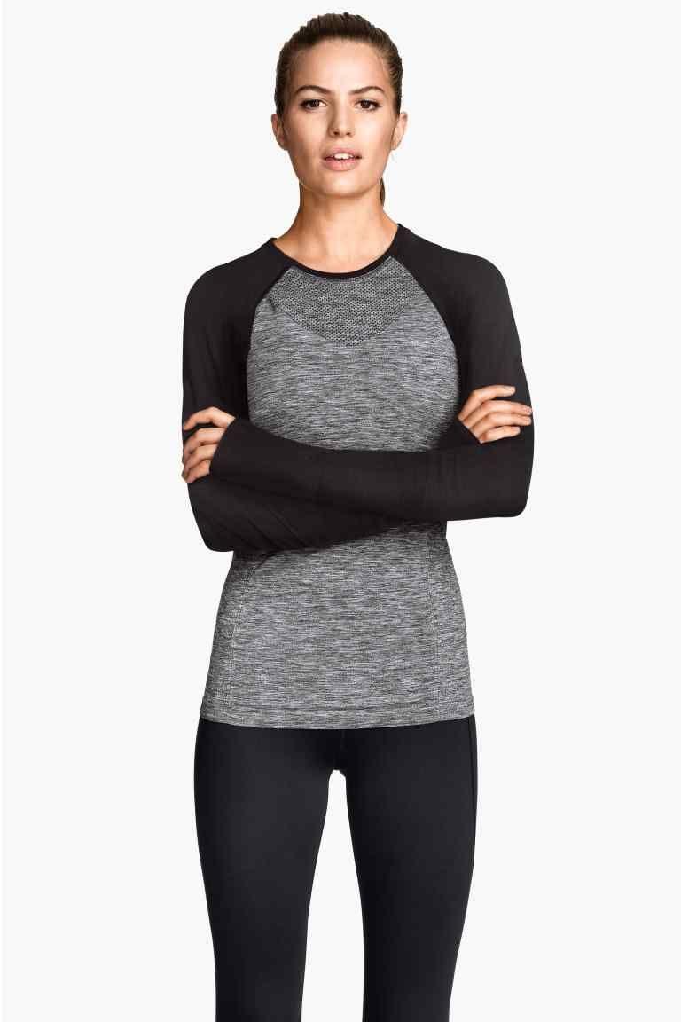 Camiseta deportiva sin costura  bef3232191f96