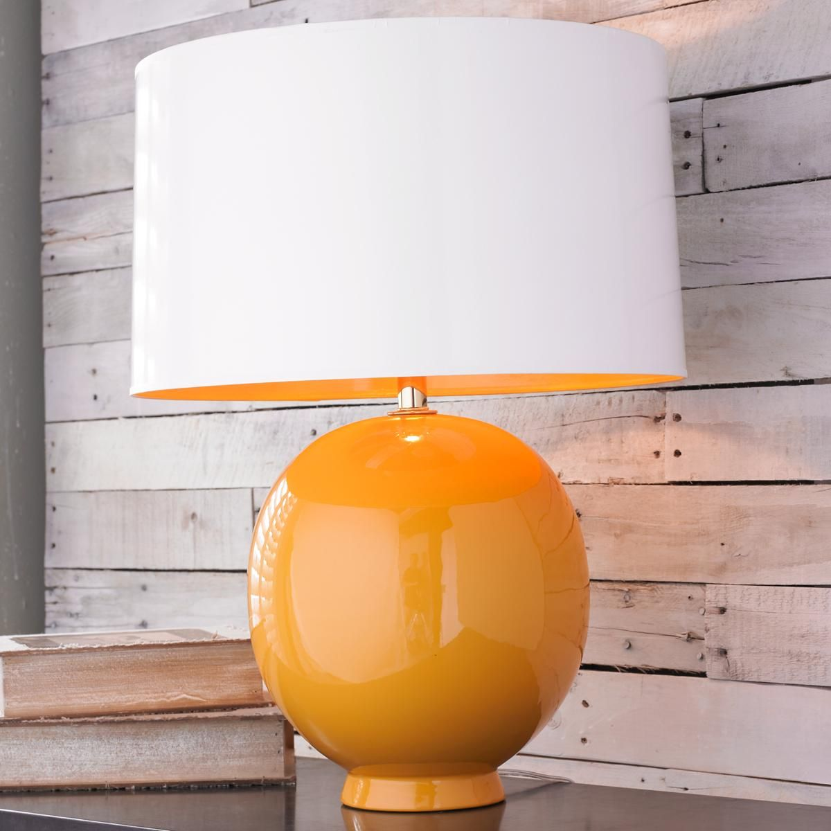 Modern Ceramic Egg Pop Of Color Table Lamp With Images Table
