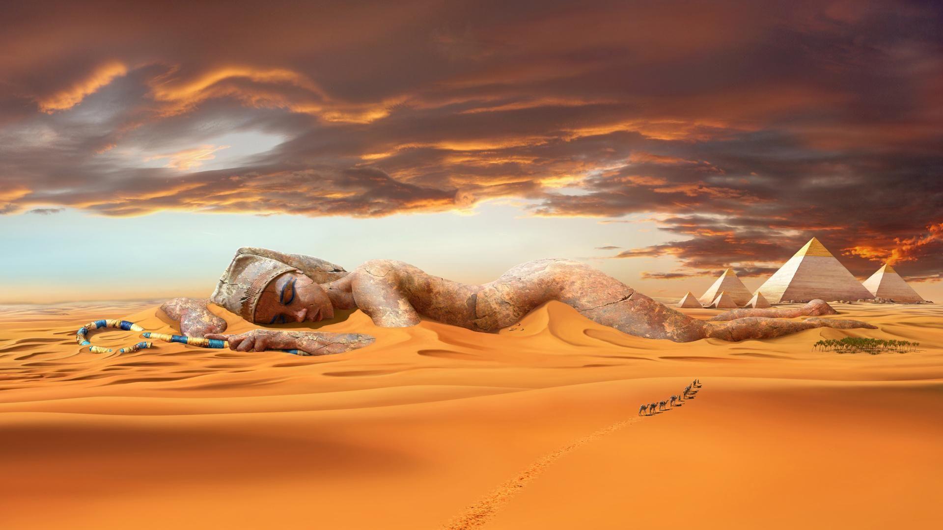 Desert Free High Quality Windows Theme Egypt Egypt Wallpaper World Of Fantasy
