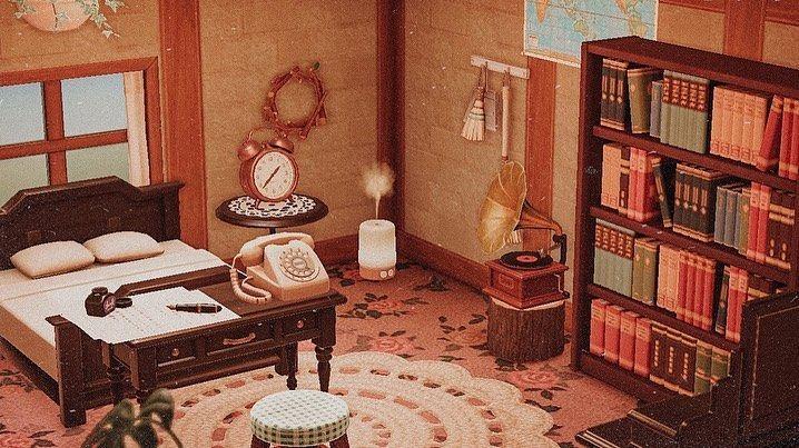 ACNH animal crossing new horizons bedroom ideas ... on Animal Crossing New Horizons Bedroom Ideas  id=28976