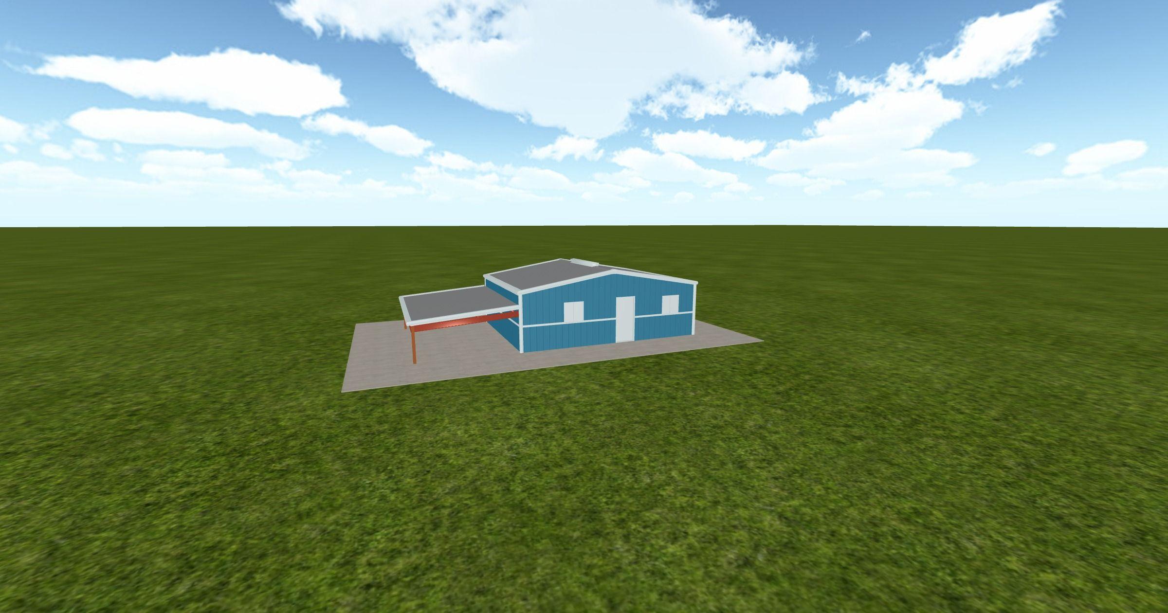 Cool 3D #marketing https://ift.tt/2ulc1sk #barn #workshop #greenhouse #garage #roofing #DIY