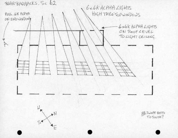 roger deakins light diagram in order to get the row of window rh pinterest com Simple Lighting Diagrams Portrait Lighting Setup Diagram