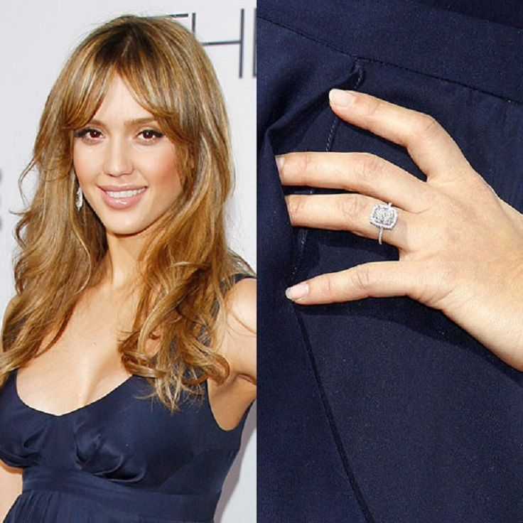 top 10 best celebrity engagement rings - Celebrity Wedding Rings