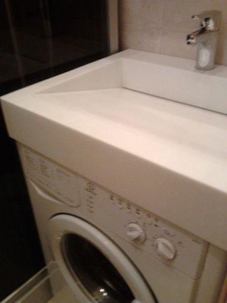 washing machine under the bathroom sink... Z: x-ideas Pinterest ...