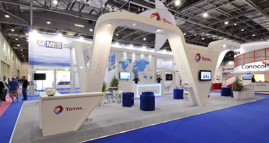 Exhibition Booth London : Exhibition contractors stand design