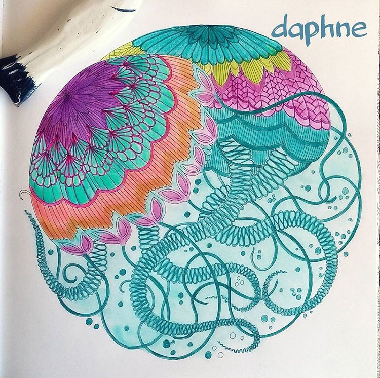Inspirational Coloring Pages Por Daphne Inspiracao Coloringbooks