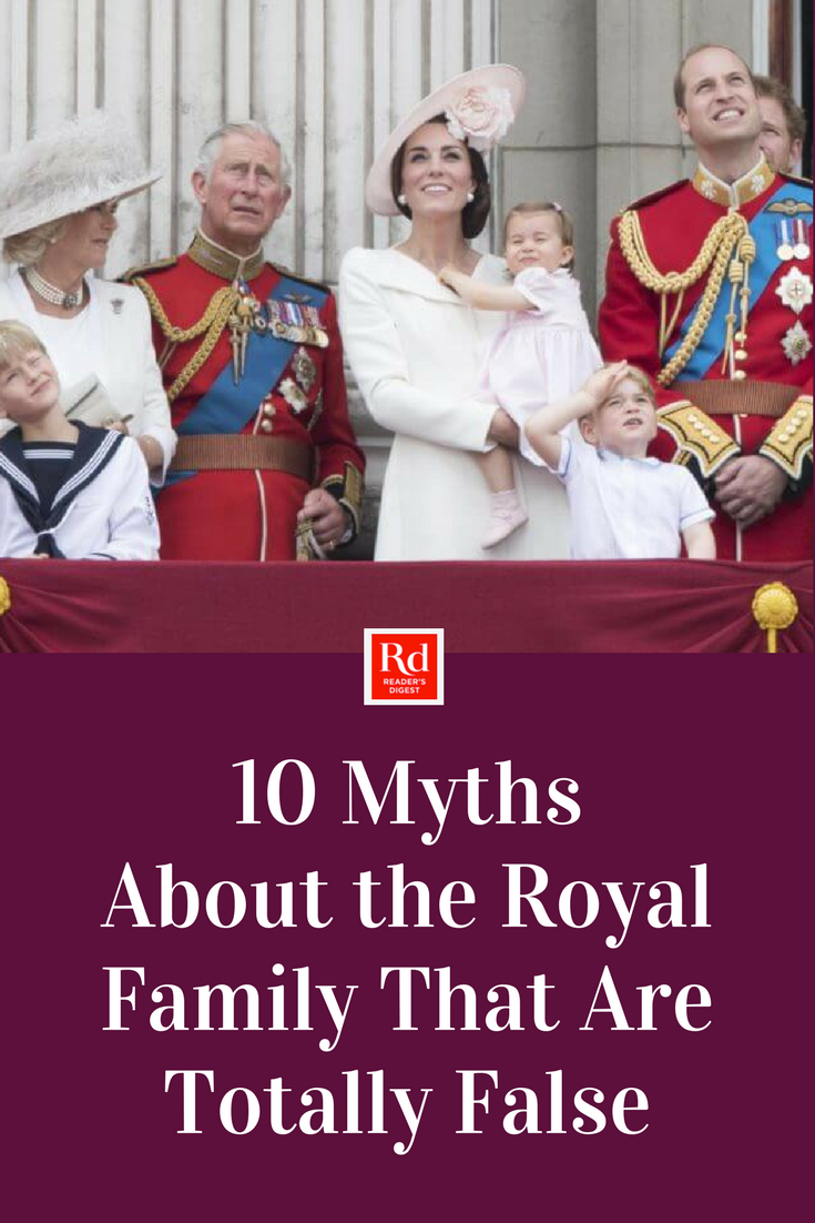 d9bcf438a5b 10 Myths About the Royal Family That Are Totally False in 2019 ...