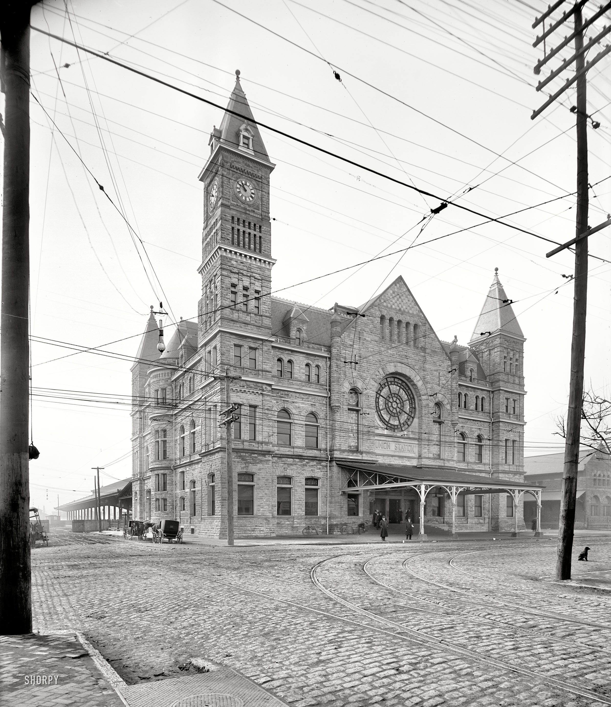 Circa 1906 Union Station Louisville Kentucky Continuing Our
