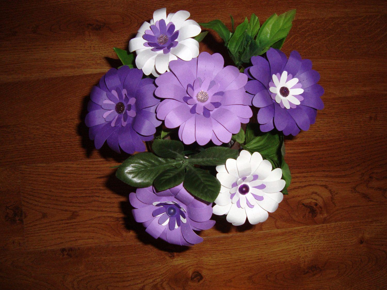 Paper Flower Daisy Bouquet  Gerber Daisies  Daisy Bouquet