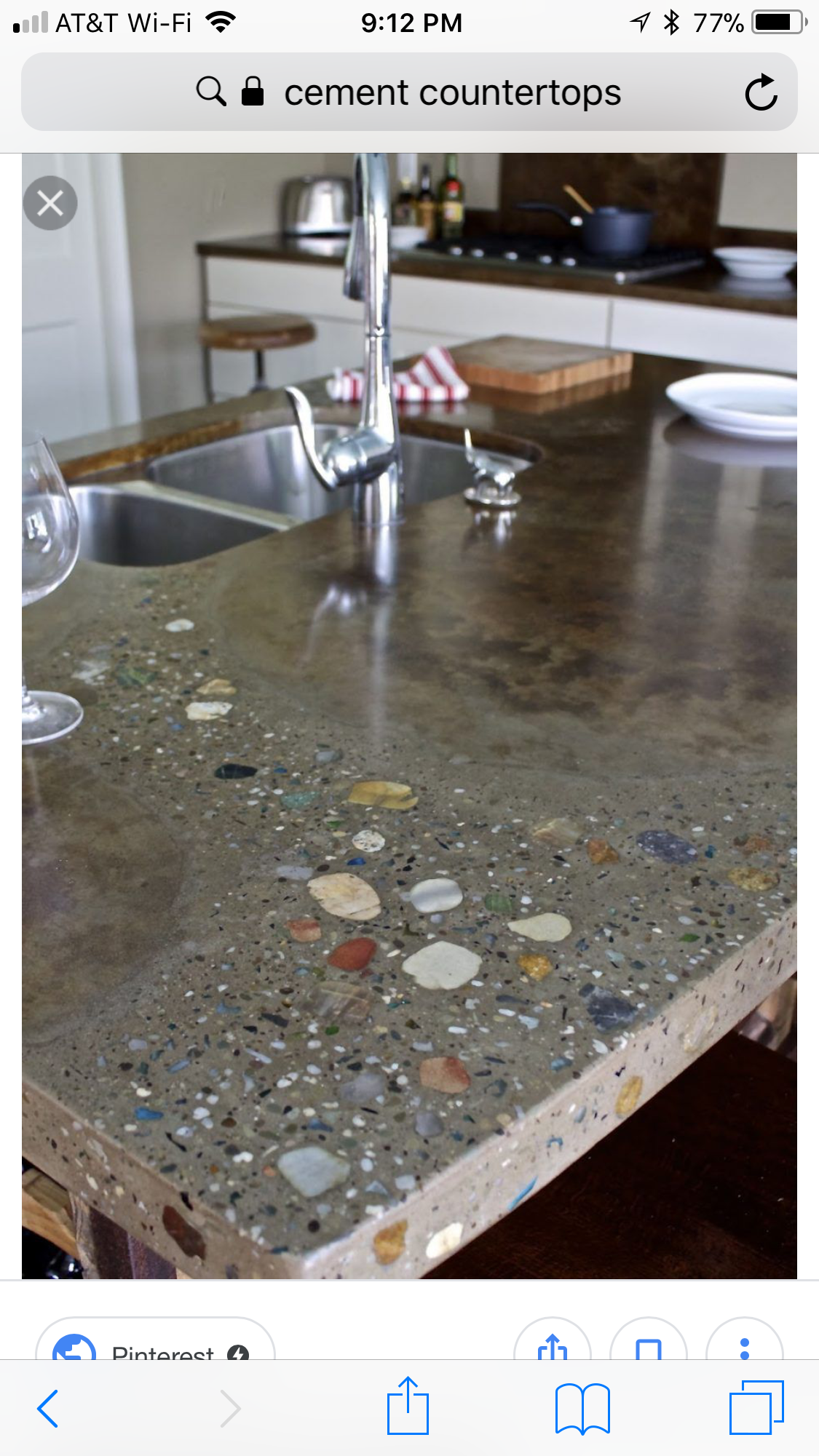 Pin By Samantha Tate On Our House Concrete Kitchen Making