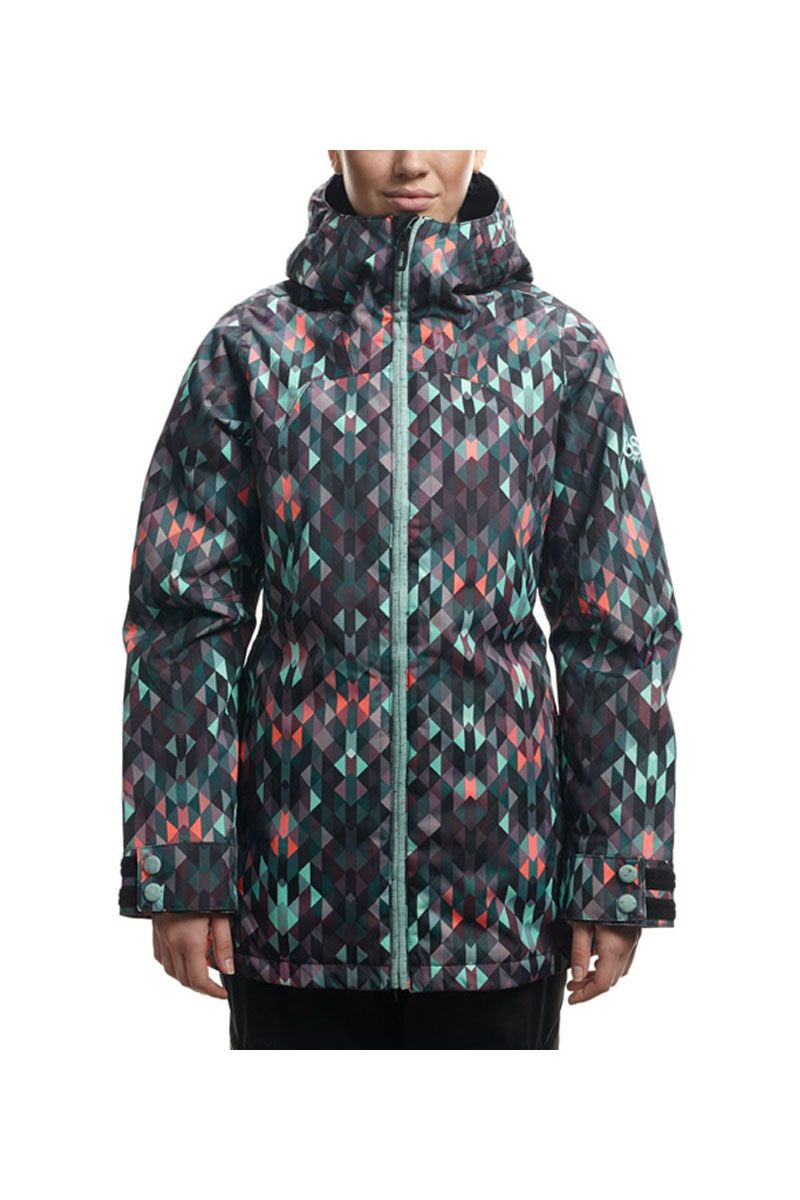 The 2017 686 Womens Smarty Haven Insulated Snowboard Jacket Is Gift That Keeps On Giving