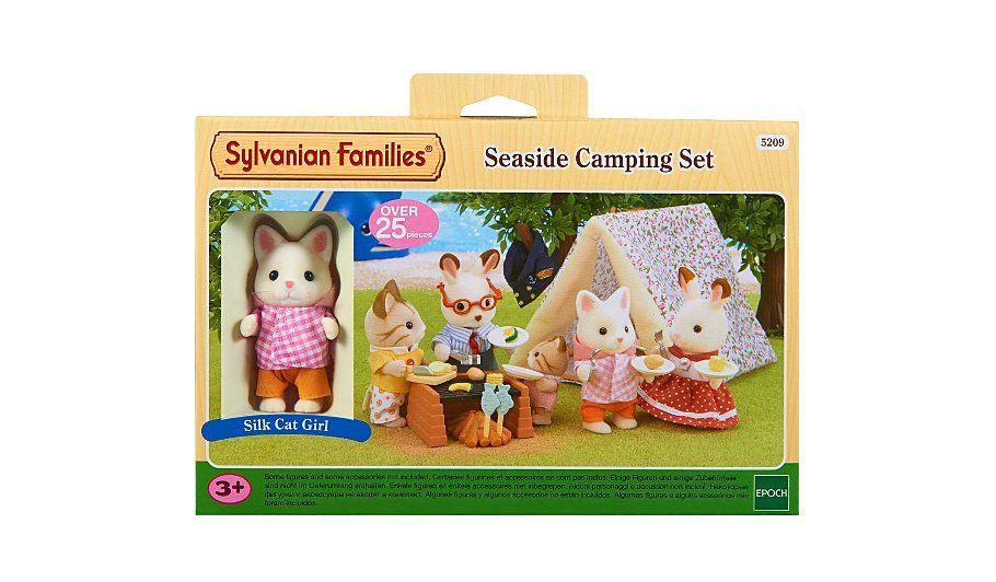 Sylvanian Families - Seaside Camping Set Sylvanian families - asda halloween decorations