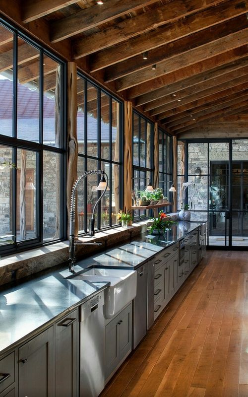 19+ Wondrous French Industrial Kitchen Ideas #industrialfarmhouselivingroom