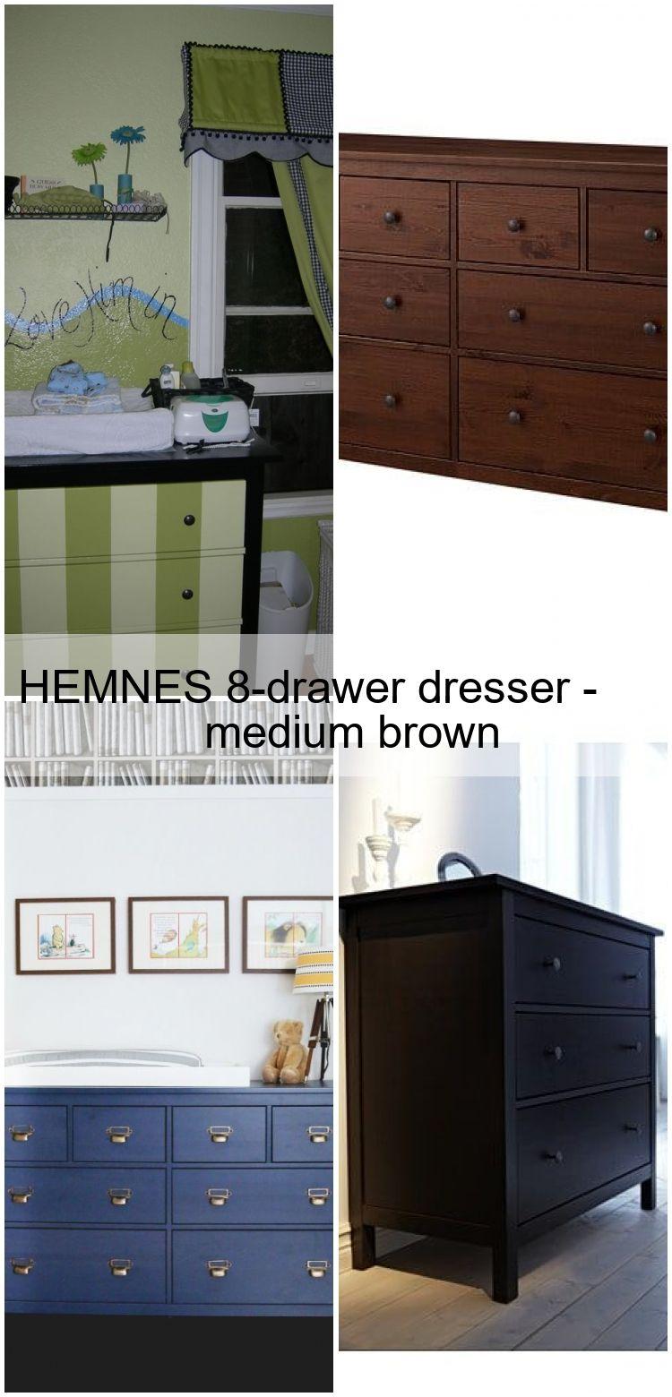 Hemnes 8drawer dresser medium brown hemnes 8drawer