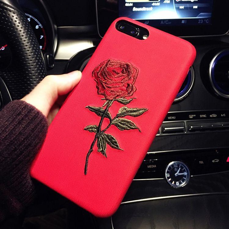 Elegant Rose Flower Iphone 6 Cases