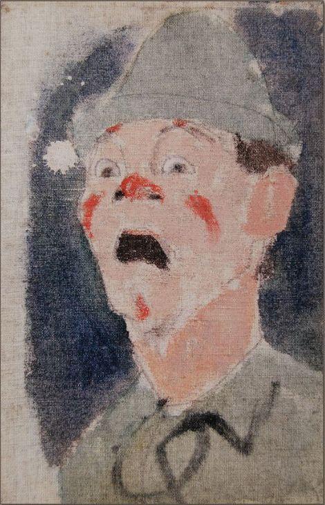 Amedeo Modigliani, TETE DE CLOWN on ArtStack #amedeo-modigliani #art
