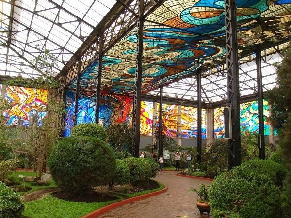 Image result for beautiful glass green house