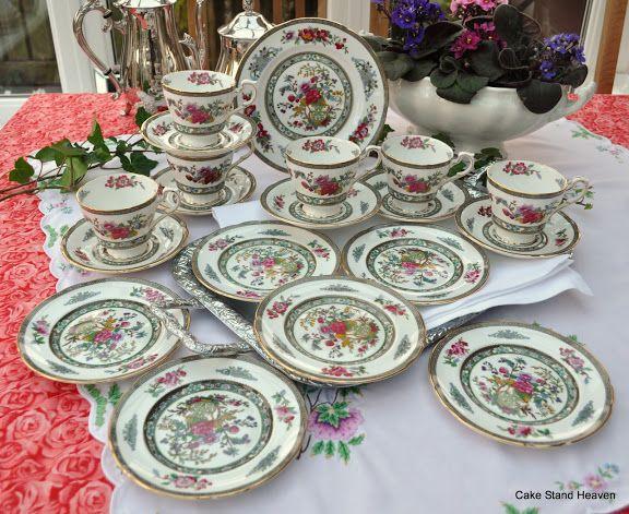 Lamparas antiguas de porcelana buscar con google hora for Vajilla de porcelana inglesa