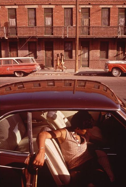 by Danny Lyon, Brooklyn, 1972