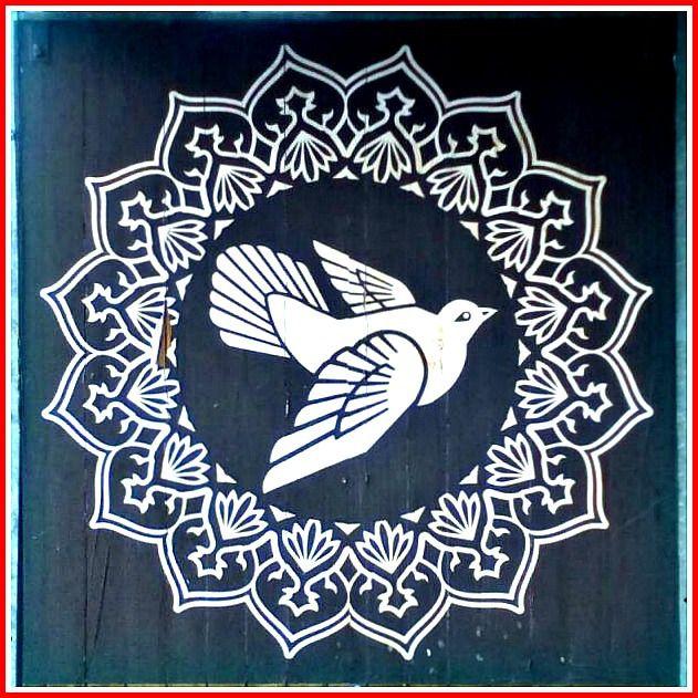 Shepard Fairey Peace Dove Berlin bekitschig