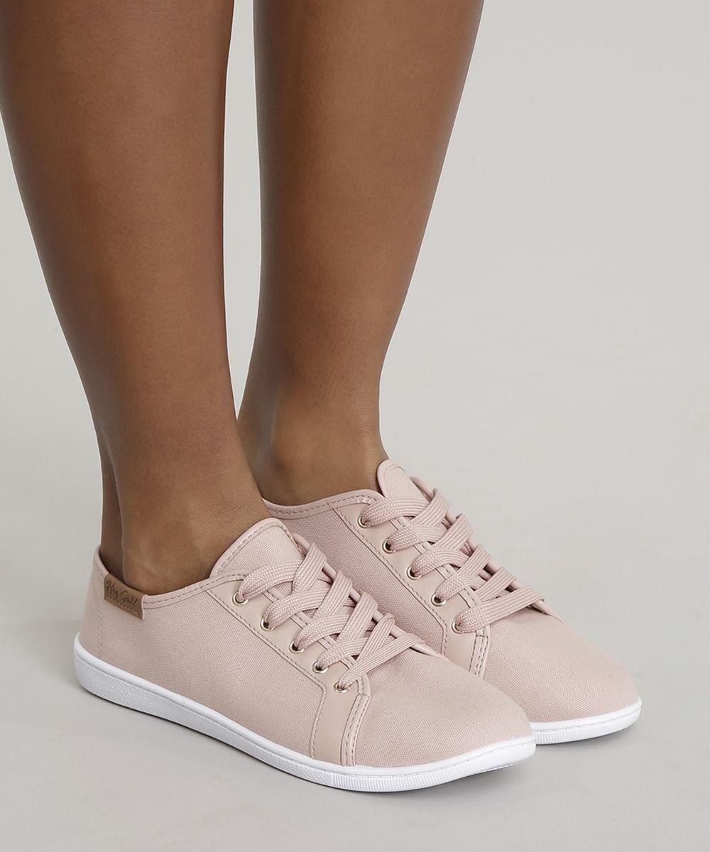 650c8755e Tenis-Moleca-Rose-8852234-Rose_2 | Sapatos femeninos in 2019 ...
