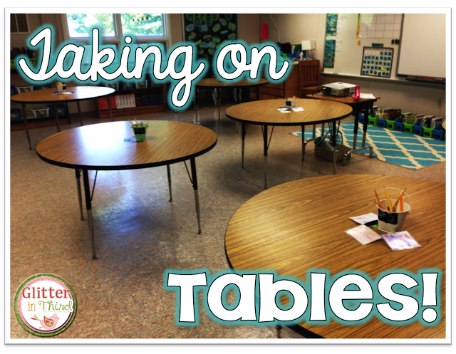 Blog Post On Making The Switch From Desks To Tables In An Elementary  Classroom! Storage Ideas And Tips For The Transition!