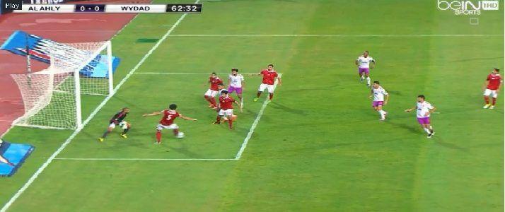 نتيجة مباراة الأهلي والوداد المغربى اليوم ونهاية اللقاء 2 0 ونهاية الشوط نجوم مصرية Soccer Field Soccer Sports