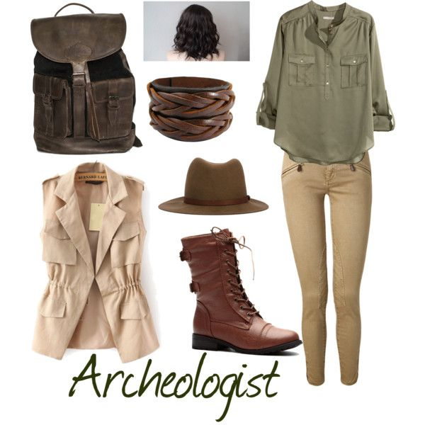 1e0b369fb Archeologist by ravenclawchick853 on Polyvore featuring polyvore