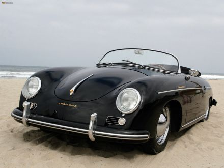 Porsche 356a 1500 Speedster 1955 Hd Desktop Wallpaper Vintage