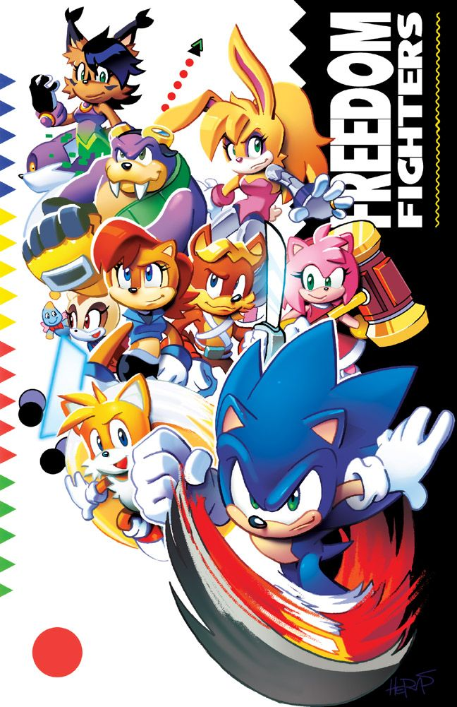New Print For The Upcoming Season Patreon Subscribers Get An Early Look At This And Other Behind The Scenes Stuff Like Ne Sonic Sonic Heroes Freedom Fighters