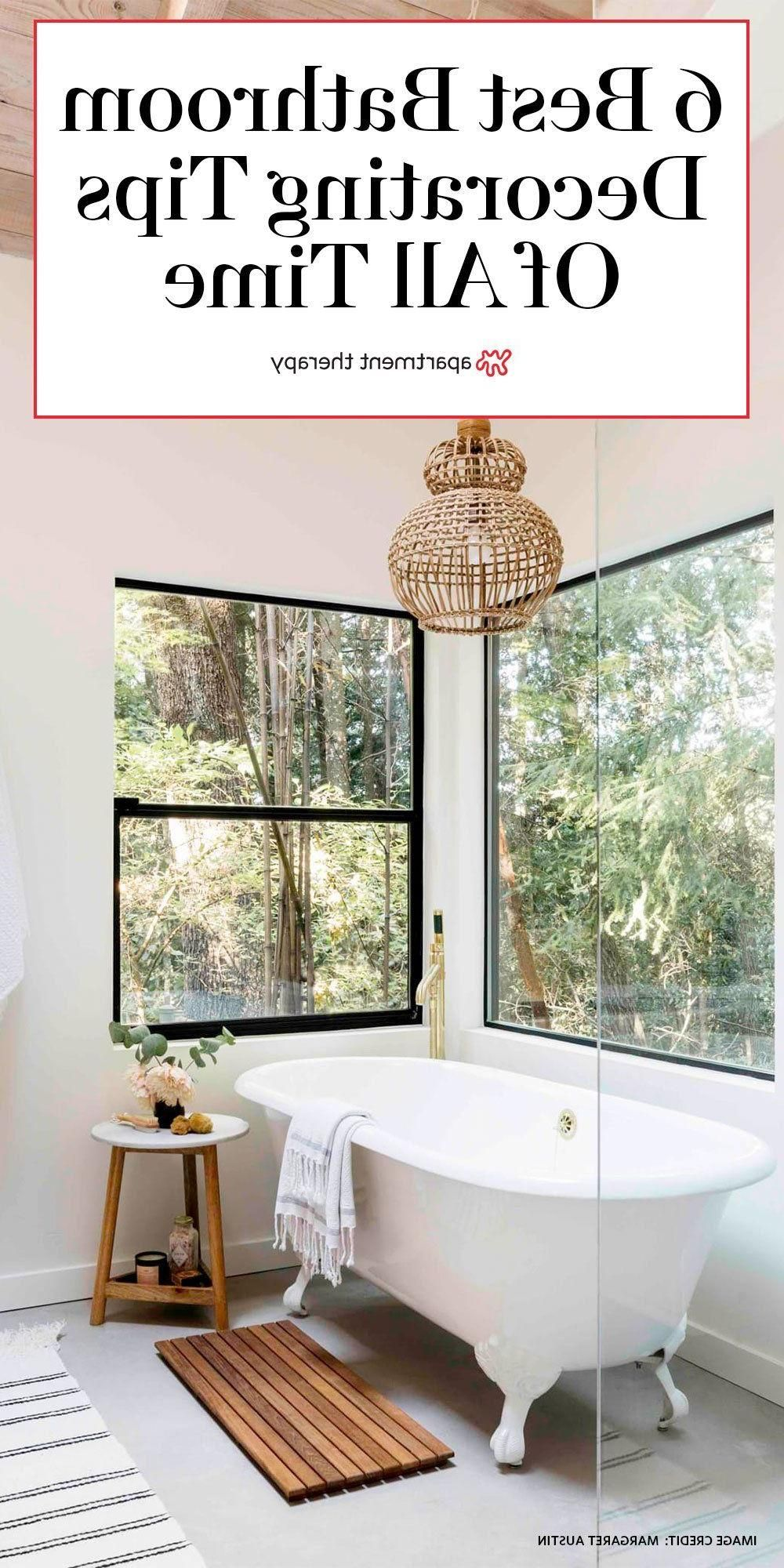 Photo of Cozy Home Interior These are the 6 best bathroom decorating tips according to Ap…