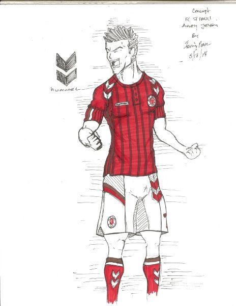 FC St Pauli Hummel Concept Away Jersey by Irvingperceni bike - soccer player resume