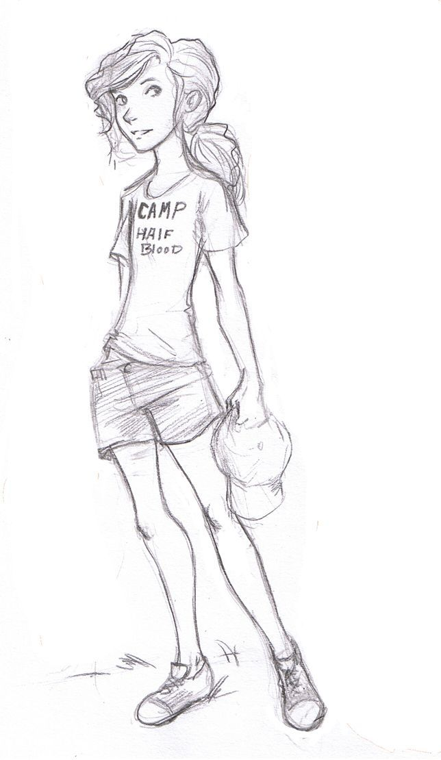 Annabeth Chase (Percy Jackson books) This is exactly how I pictured Annabeth in th  books.