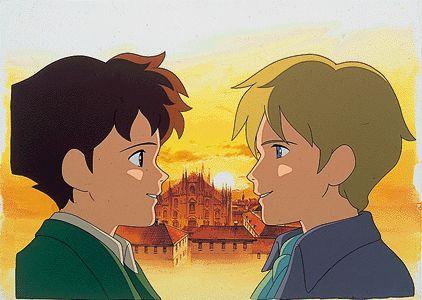 عهد الاصدقاء ريمو اريفريدو Old Anime Romeo Blue Anime