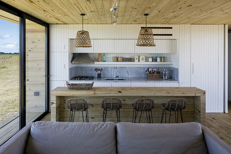 Best Retreat In José Ignacio Mapa Small Kitchen Kitchen 400 x 300