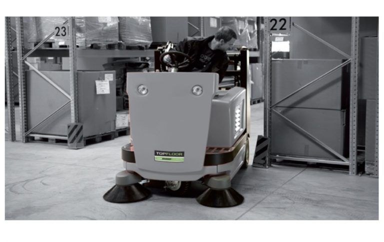 Topfloor Tf130r Trs Ride On Sweeper Industrial Flooring Flooring How To Make Light
