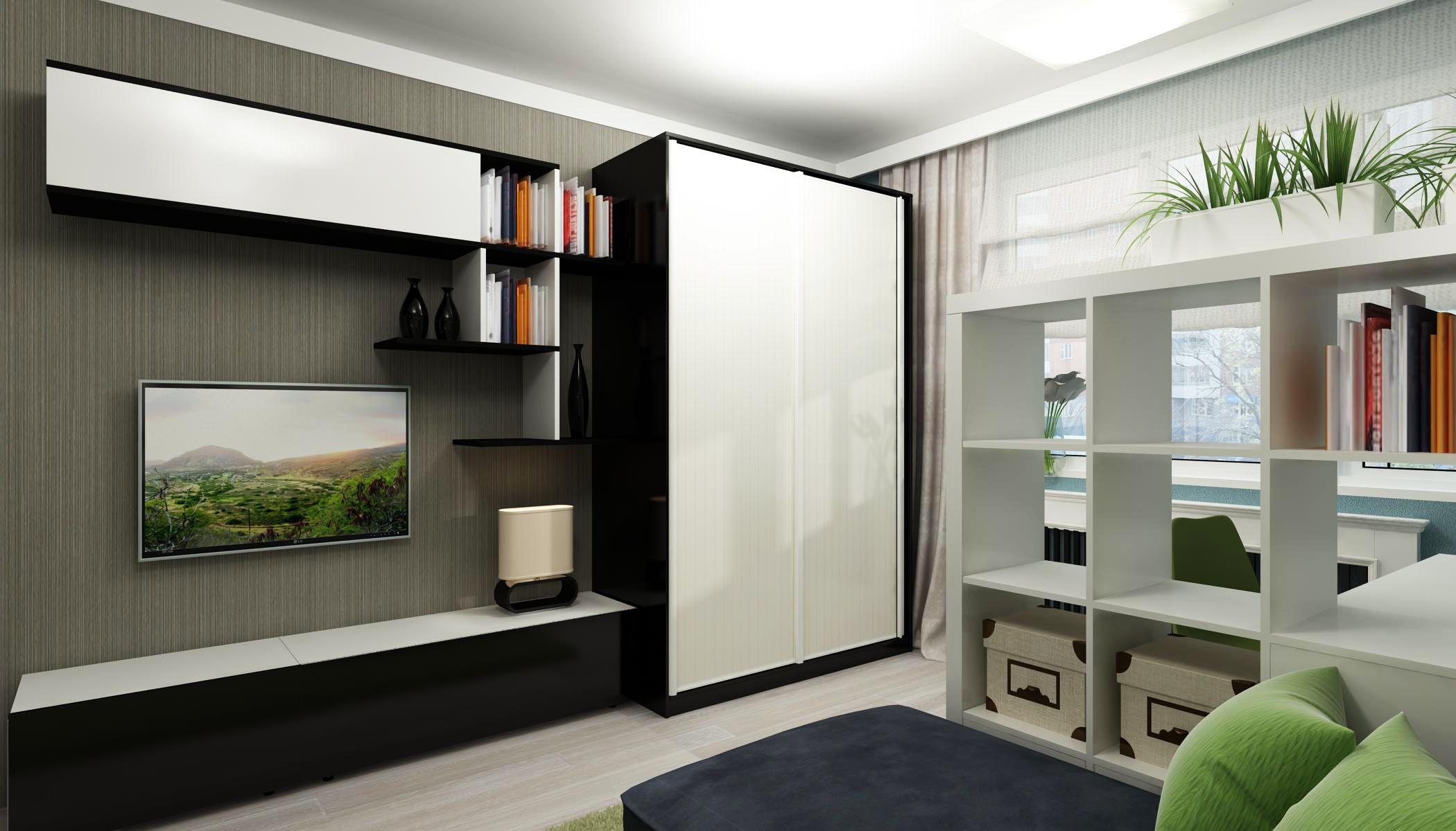 Как Расставить Мебель В Комнате: 150+ (Фото) Правильно и ...