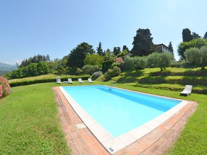Location Maison En Toscane, Villa Avec Piscine Privée à Lucques, Province  De Lucques, Référence Terza